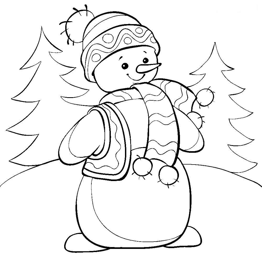 картинки раскраски снеговика на новый год акции заявили