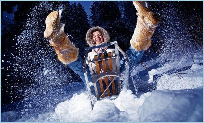 Картинка смешная про зиму, открытки юбилеем