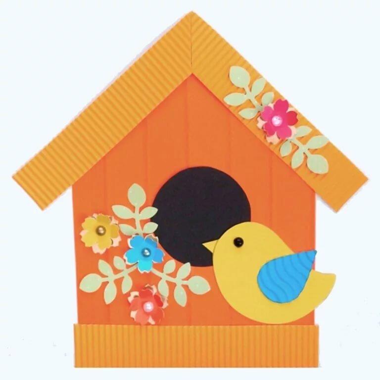 Открытка для детей домик