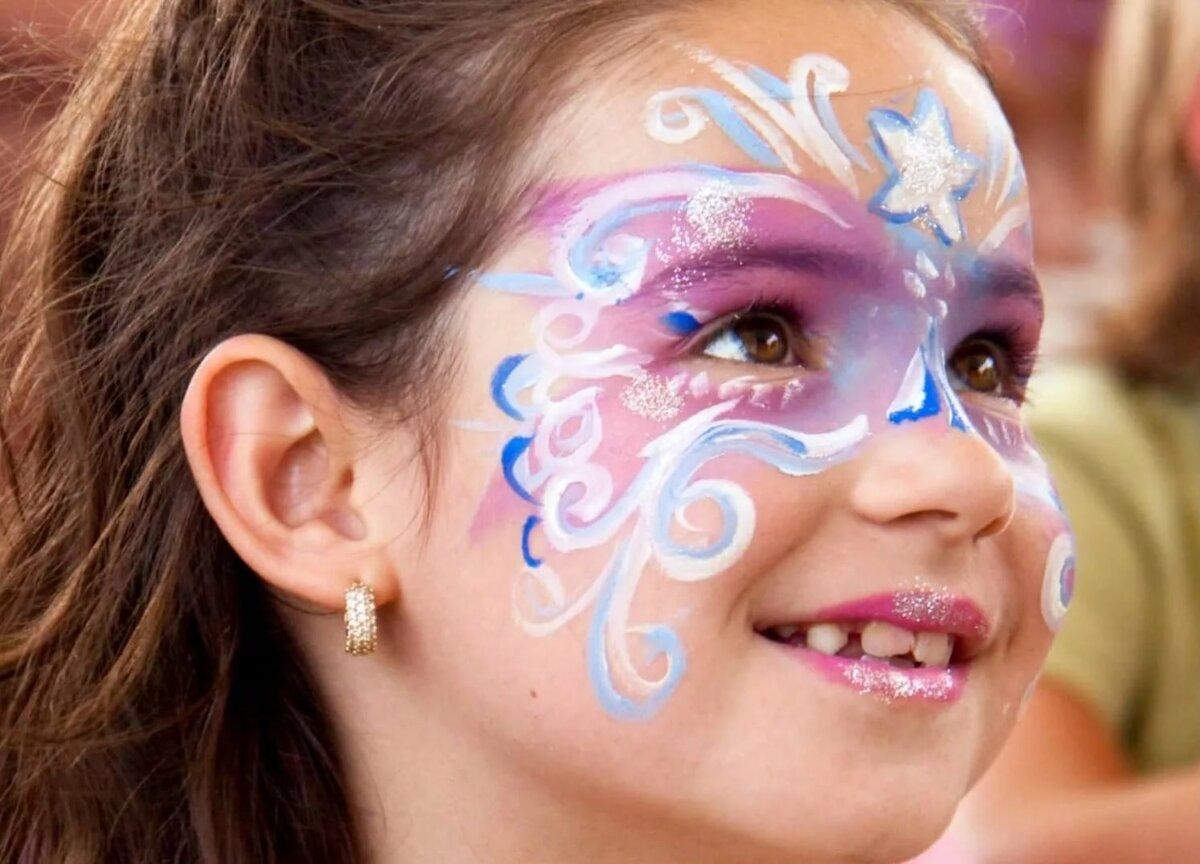 покупке, картинки рисовать на лице красками недугом
