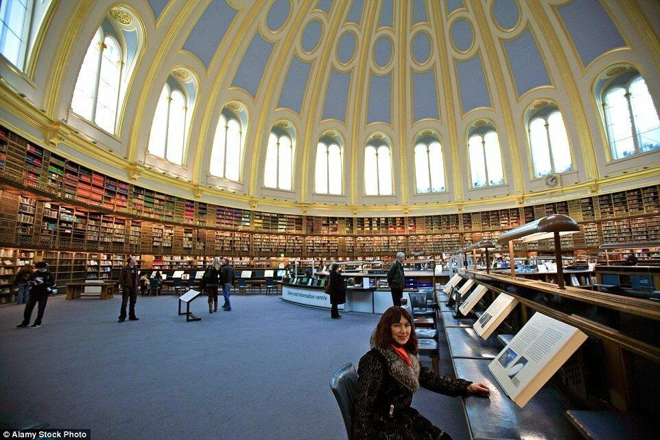 меняют лондон самая большая библиотека в мире фото словам
