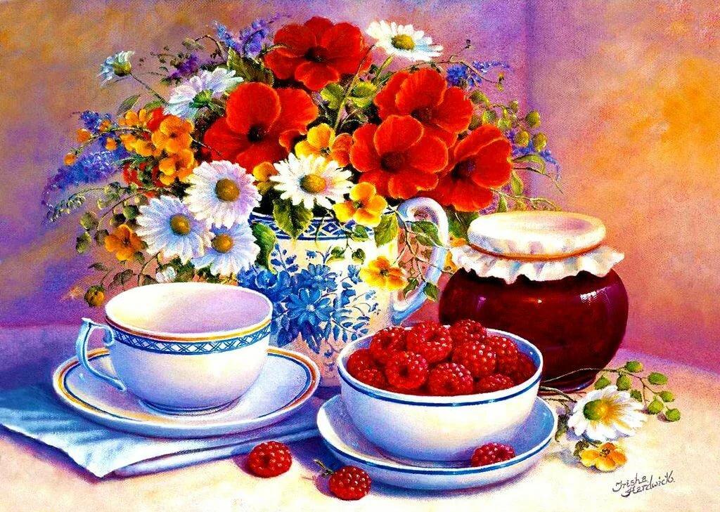 Картинки, открытки с посудой