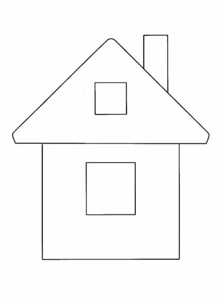 Шаблоны домика