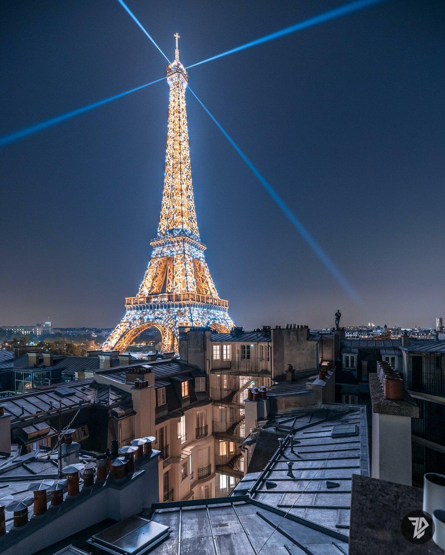 картинки парижа ночью вакх