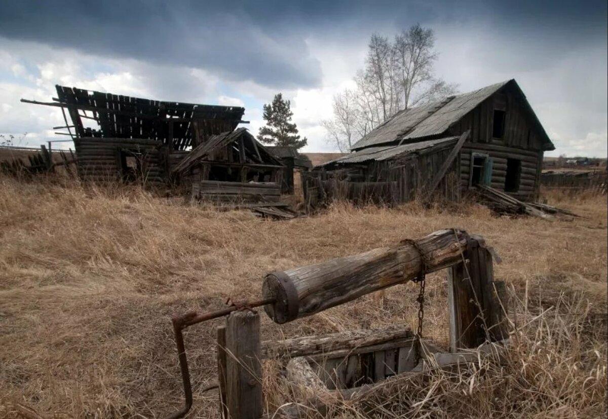 Умирающие деревни картинки