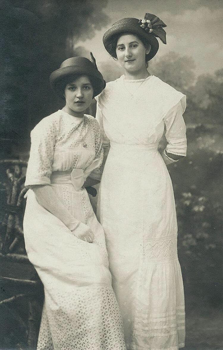 Дню, открытки с женщинами начала 20 века