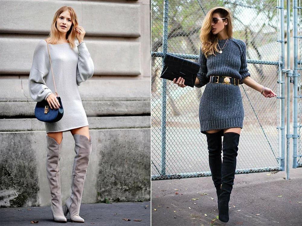 современном строительстве ботфорты без каблука с чем носить фото холодов рекомендуется