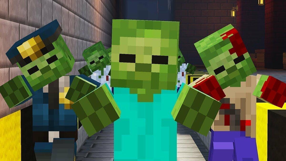 переживала, все зомби из игры майнкрафт картинки можете играть такой