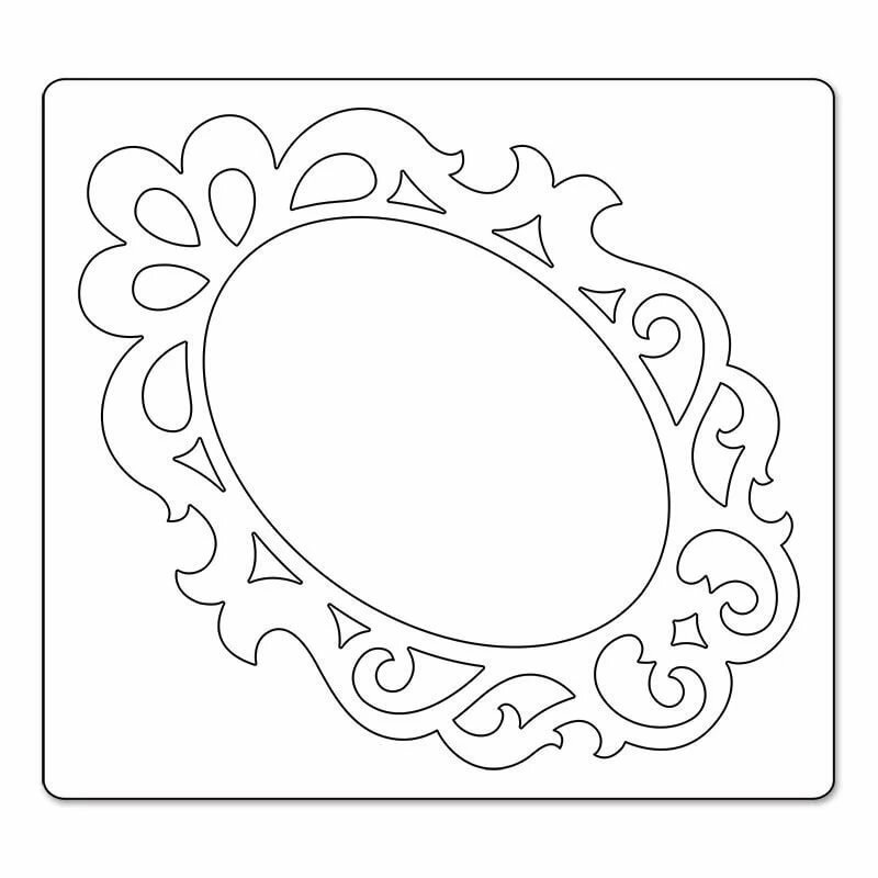 Картинки из картона зеркало