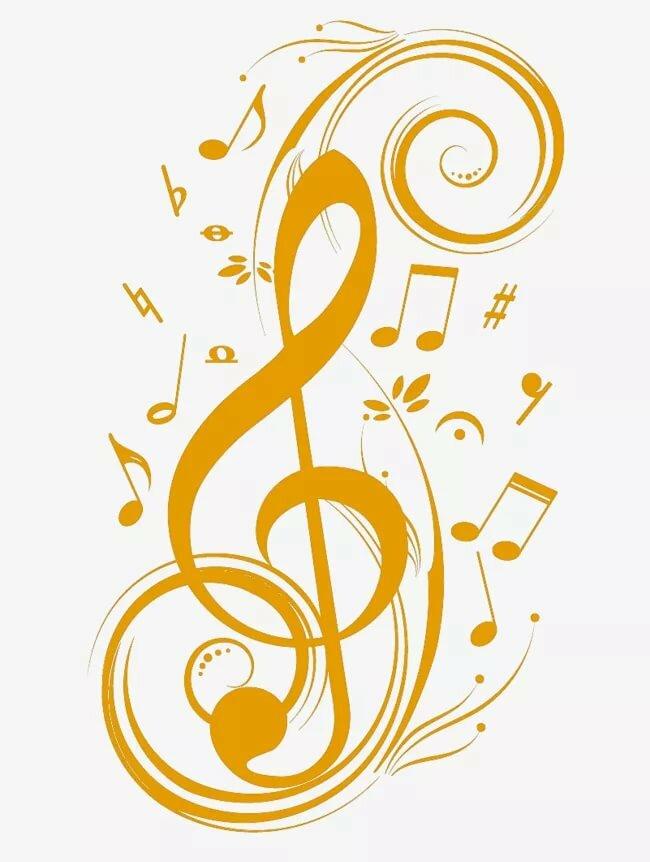 Стандартная прикольные, картинки с скрипичным ключом и нотами
