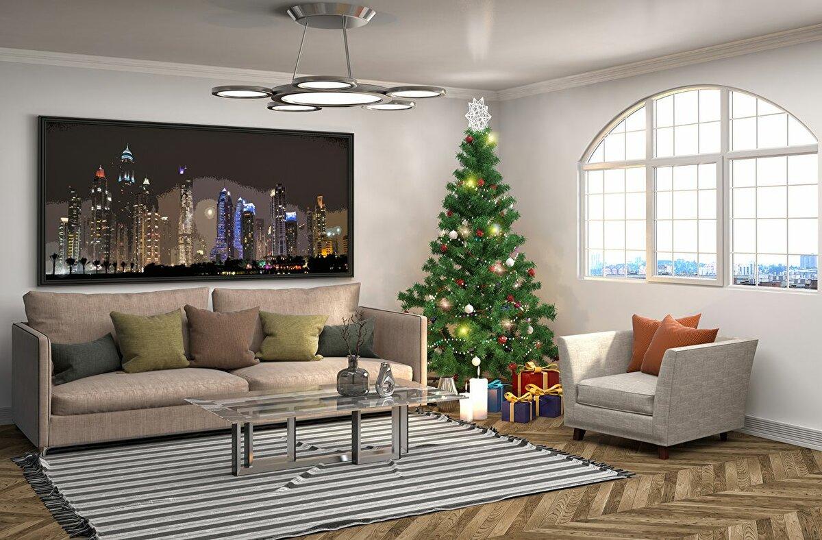 Картинки новый год квартиры