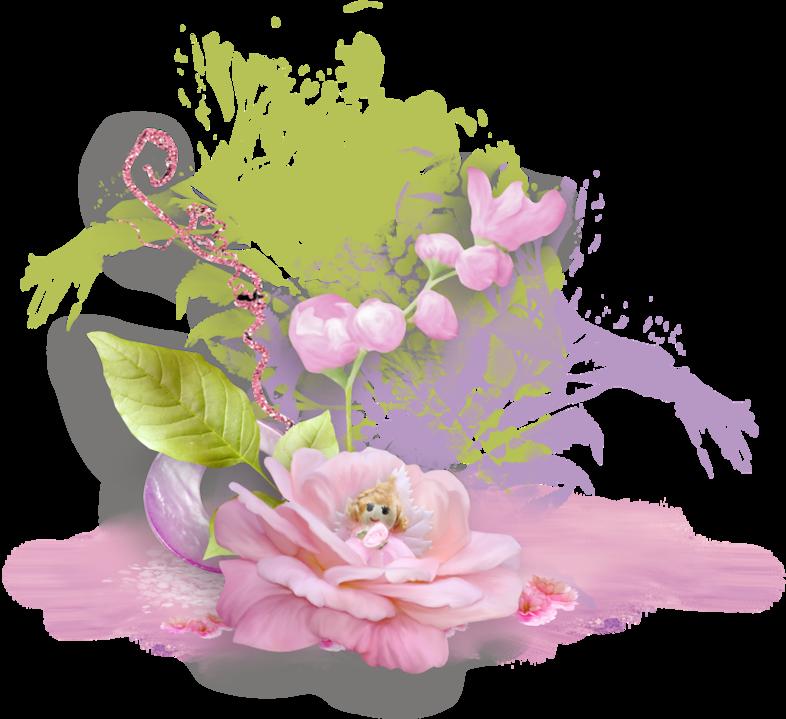 Нежные цветы картинка пнг