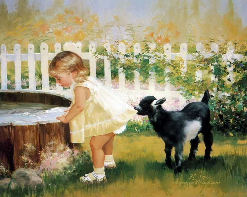 Болен, открытки природа и дети