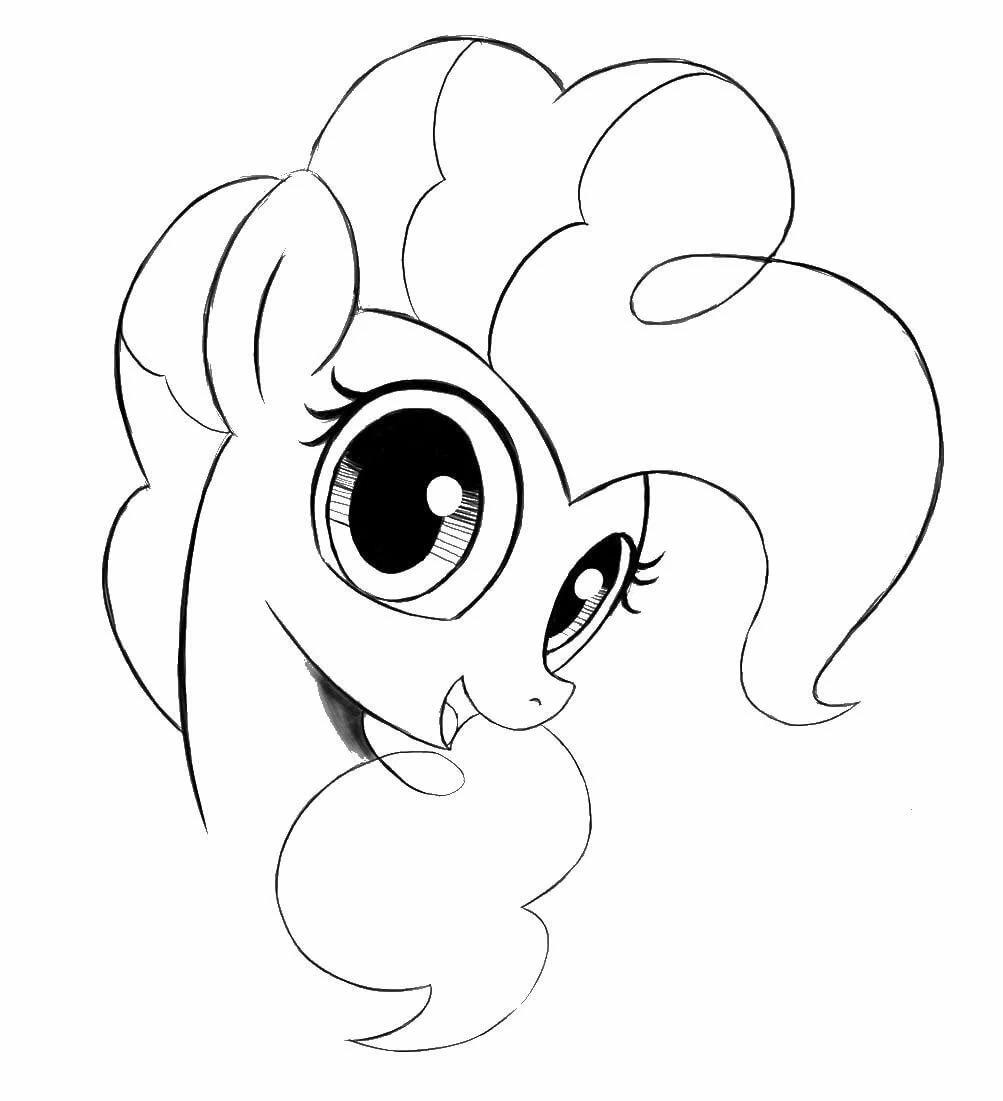 Рисовать рисунки май литл пони