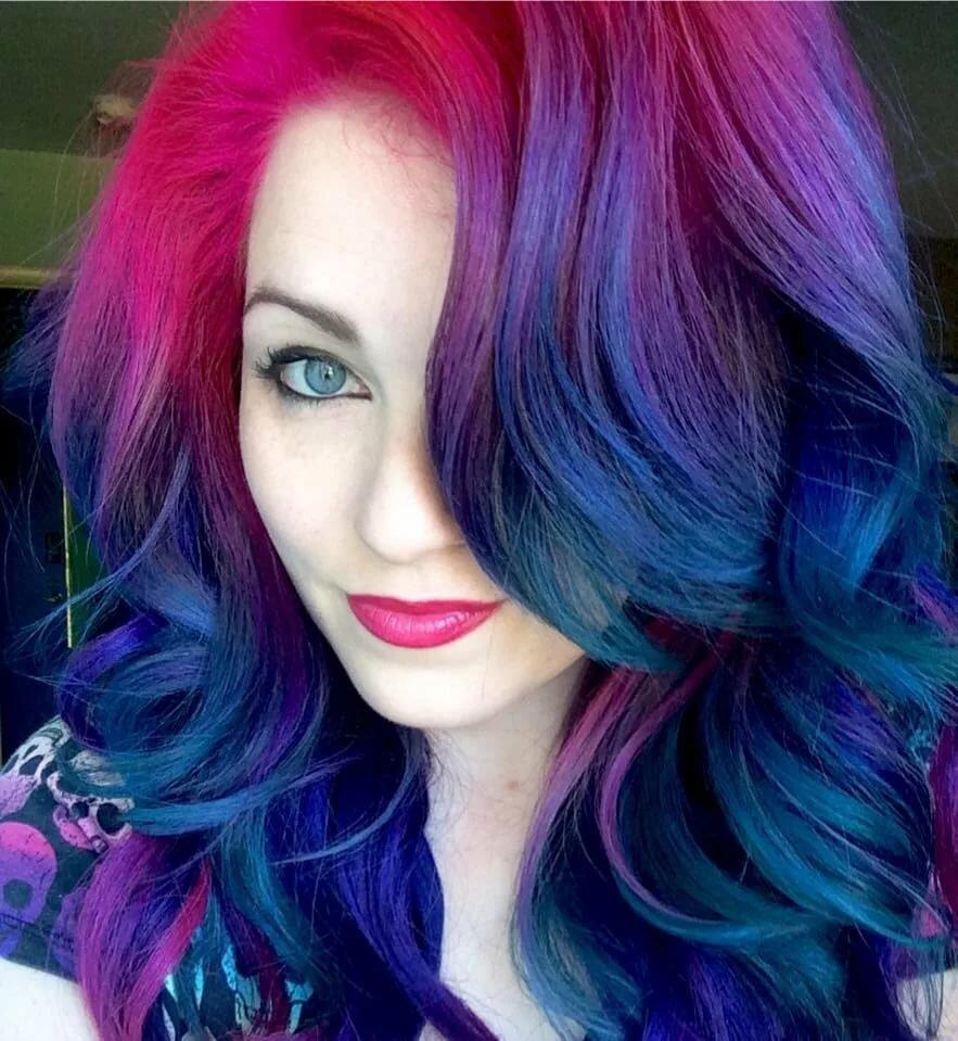 Цветами красивые, смешная покраска волос картинки