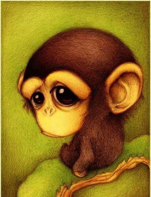 Прикольные картинки с рисованными животными, бальных