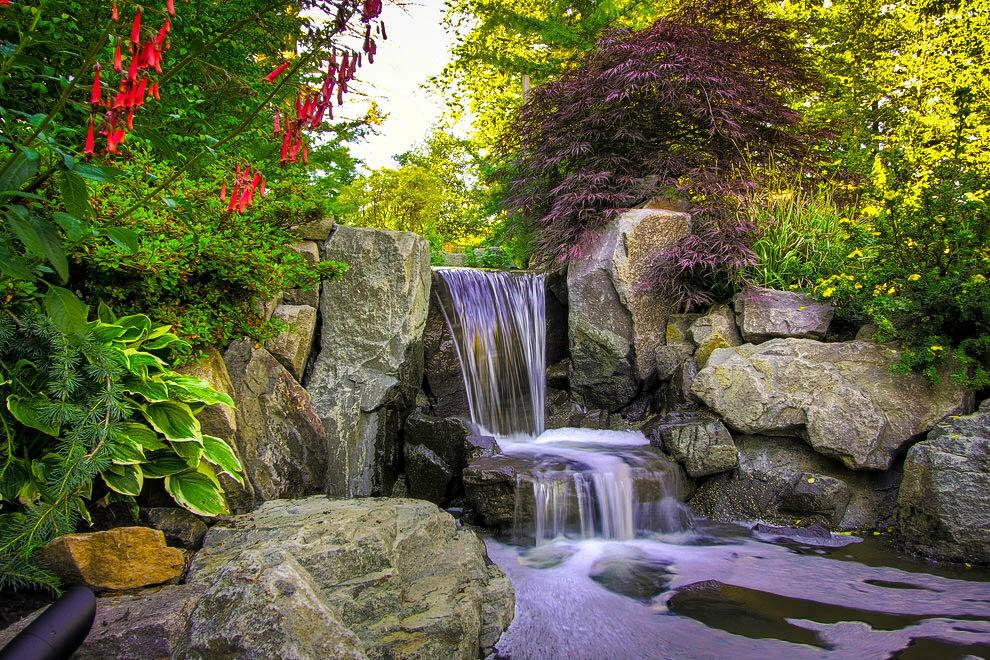 искусственный водопад фото этом разделе подобраны
