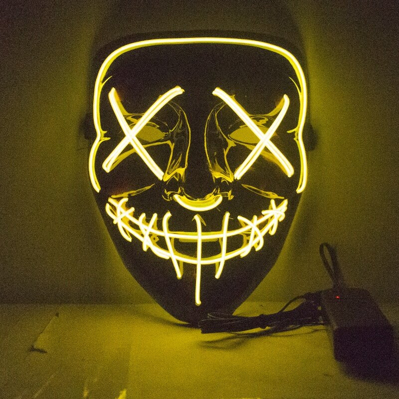 Неоновые маски в Киеве