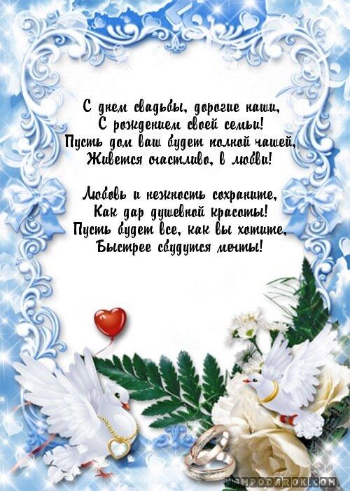Пожелания в день венчания в прозе