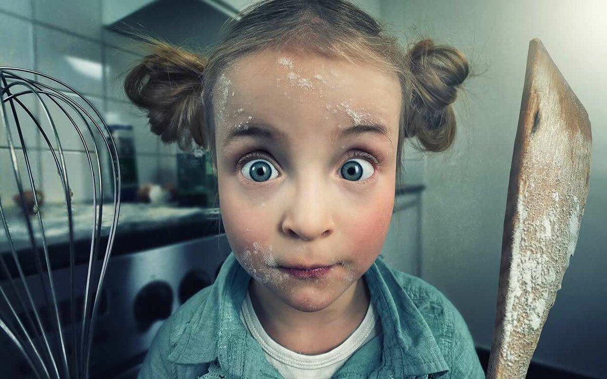 Смешная картинка девочки, открытки днем ракетных