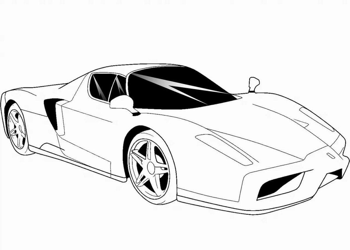 Крутые машины спортивные рисунок для мамы