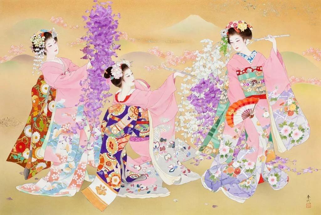 Днем, веселые японские картинки