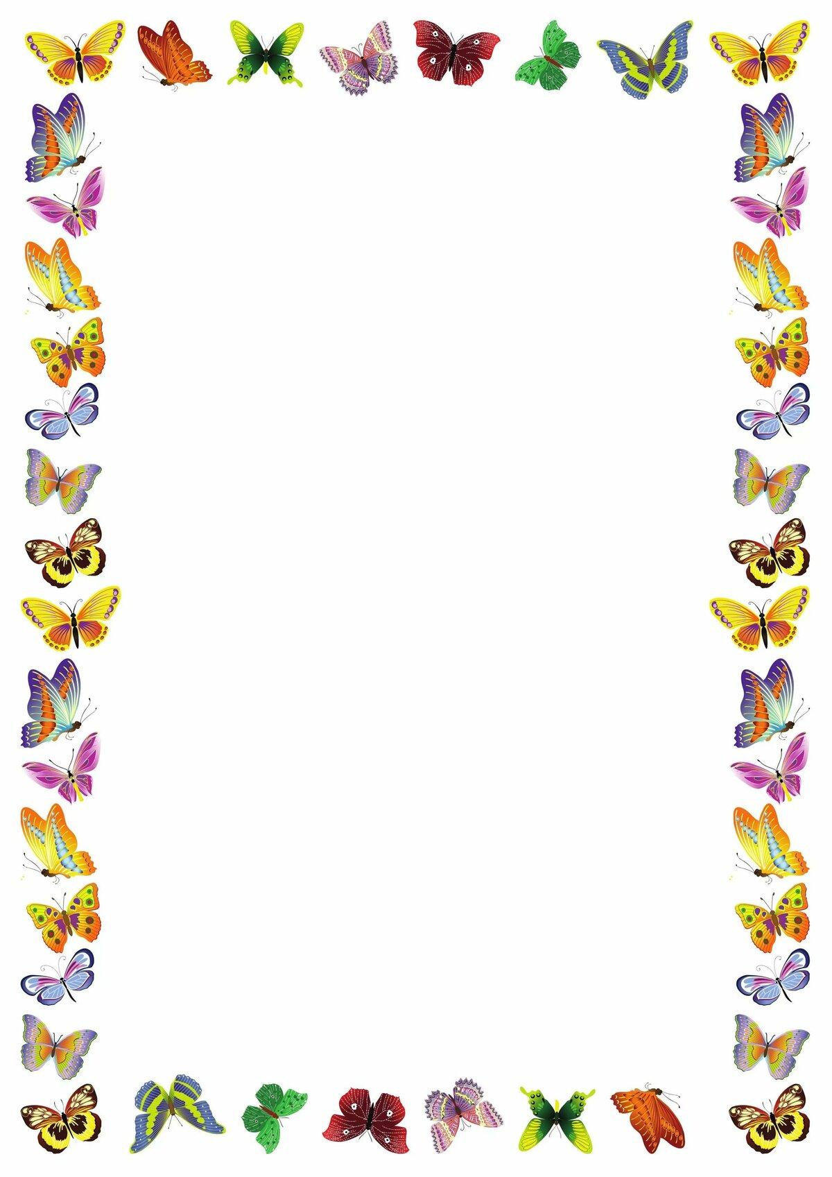 Оформление листов рамки картинки