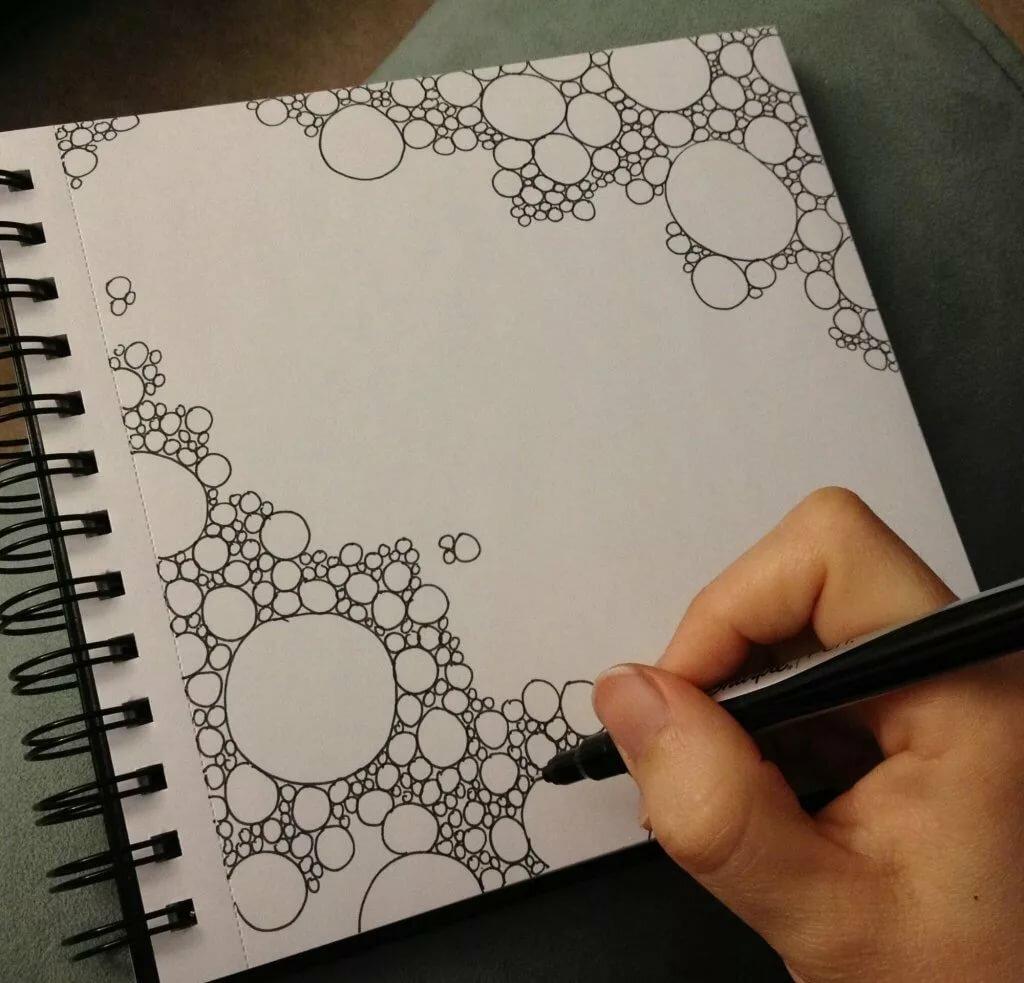 картинки для рисования в блокнот иногда появляются