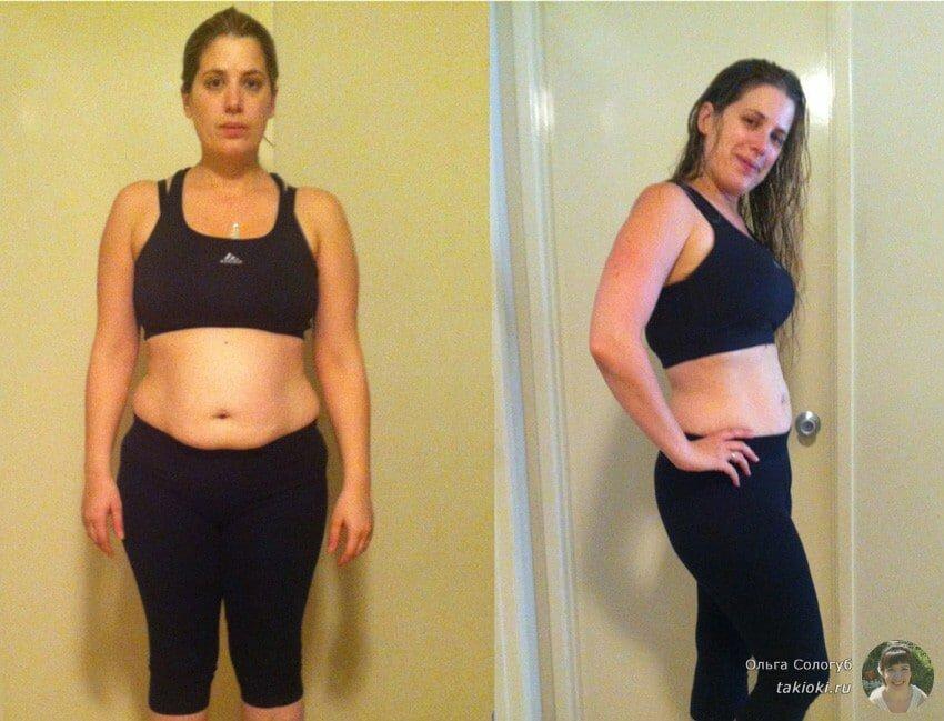 Фото до и после суповой диеты