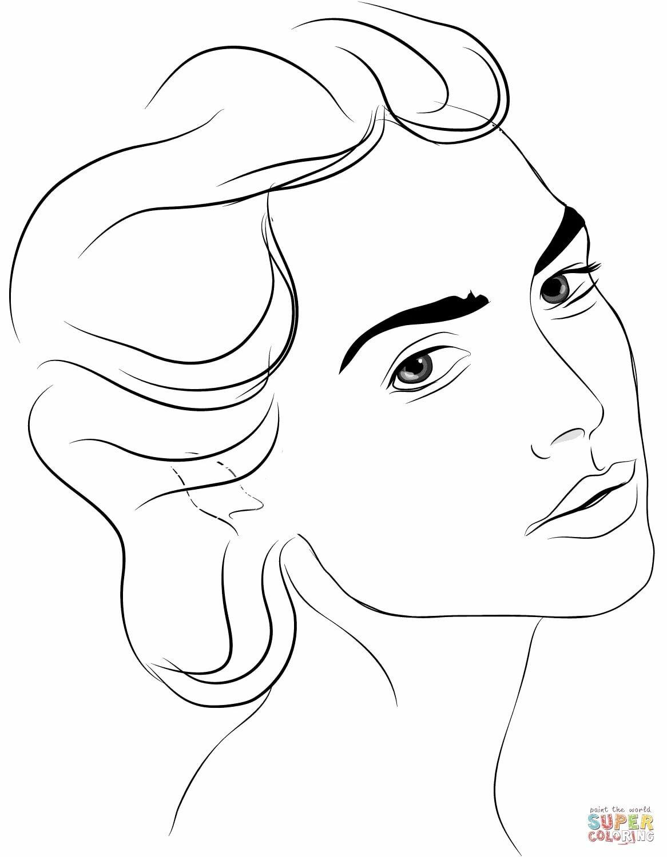 «Раскраска Женское лицо Раскраски для детей печать онлайн ...