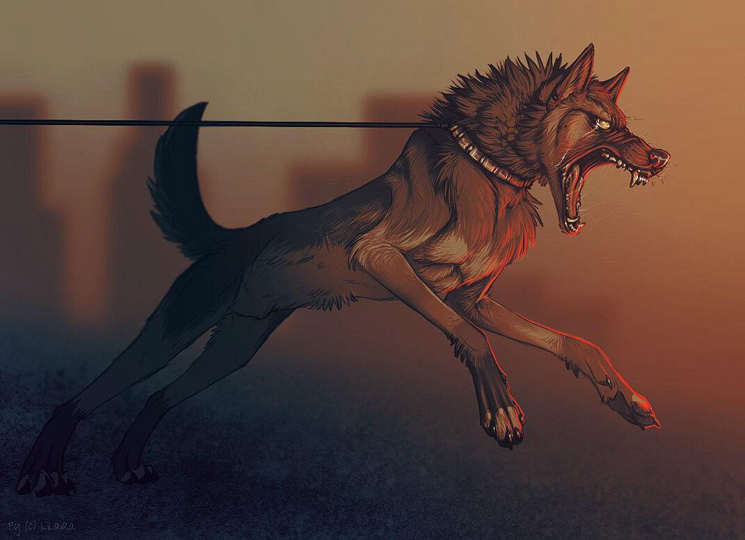 картинки злые собаки и волки могут быть пластиковыми