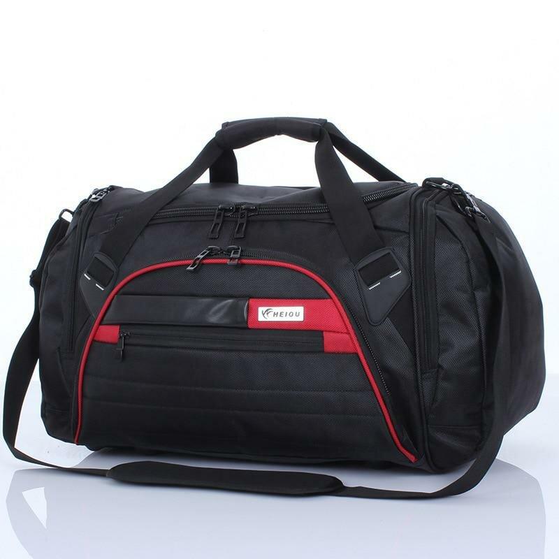 6fc1daa1b223 ... Мужчины дорожные сумки большой емкости портативных путешествия багаж  сумку женщины большой вещевой мешок ручной клади PT1129