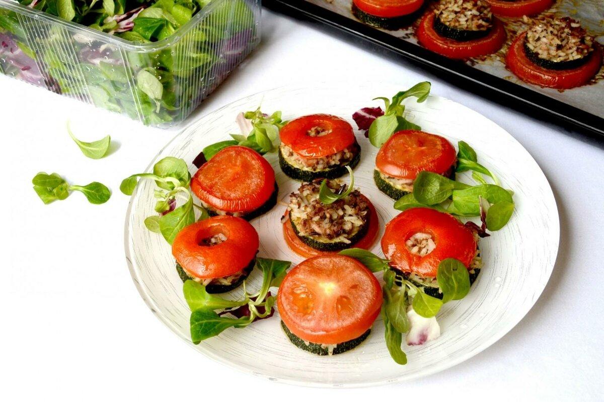 Овощные закуски рецепты с фото