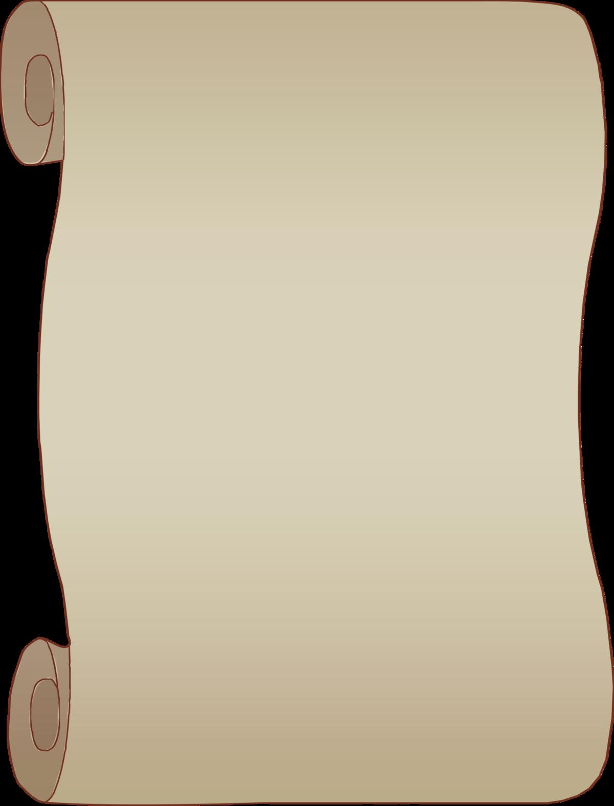 Картинка свитка для надписи