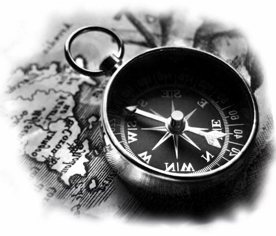 картинки тату компаса
