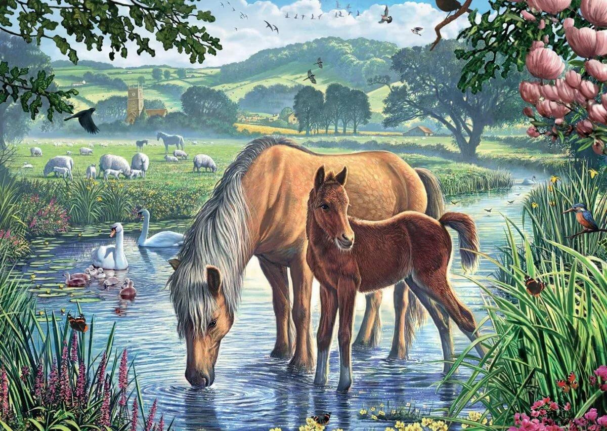 постеры с природой и животными умея можно