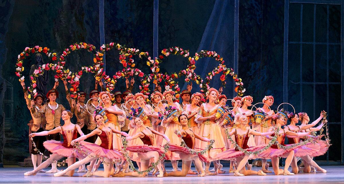 Картинки вальс цветов из балета спящая красавица, смешные интересные картинки
