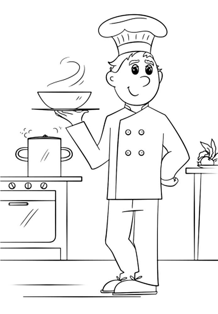 интересный картинки на тему повар чапаевске