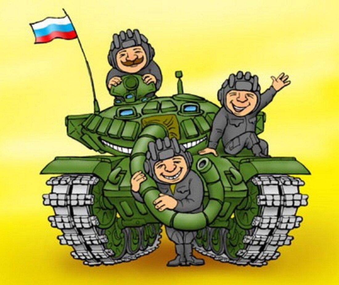 Надписью ира, открытка с танкистами