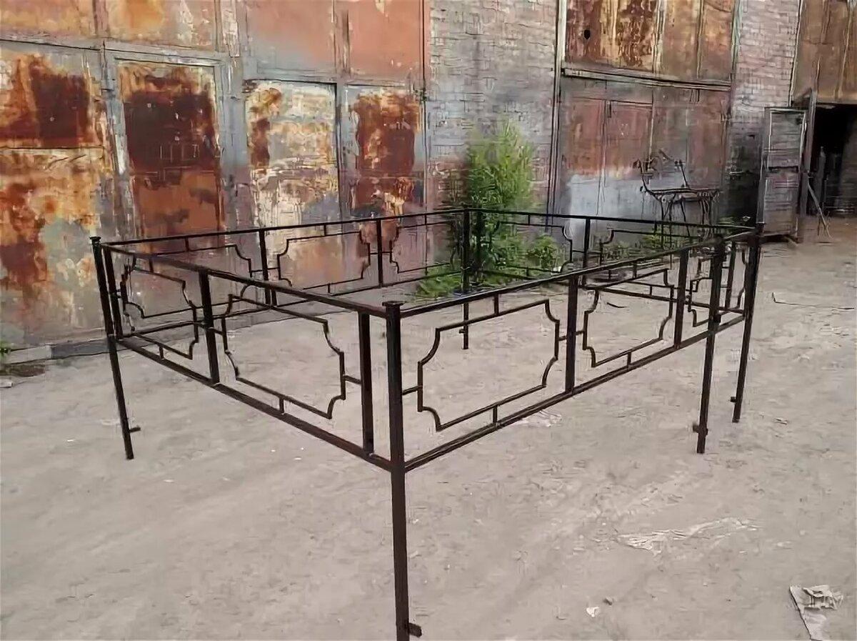 ритуальные ограды из профиля фото стромилова тоже