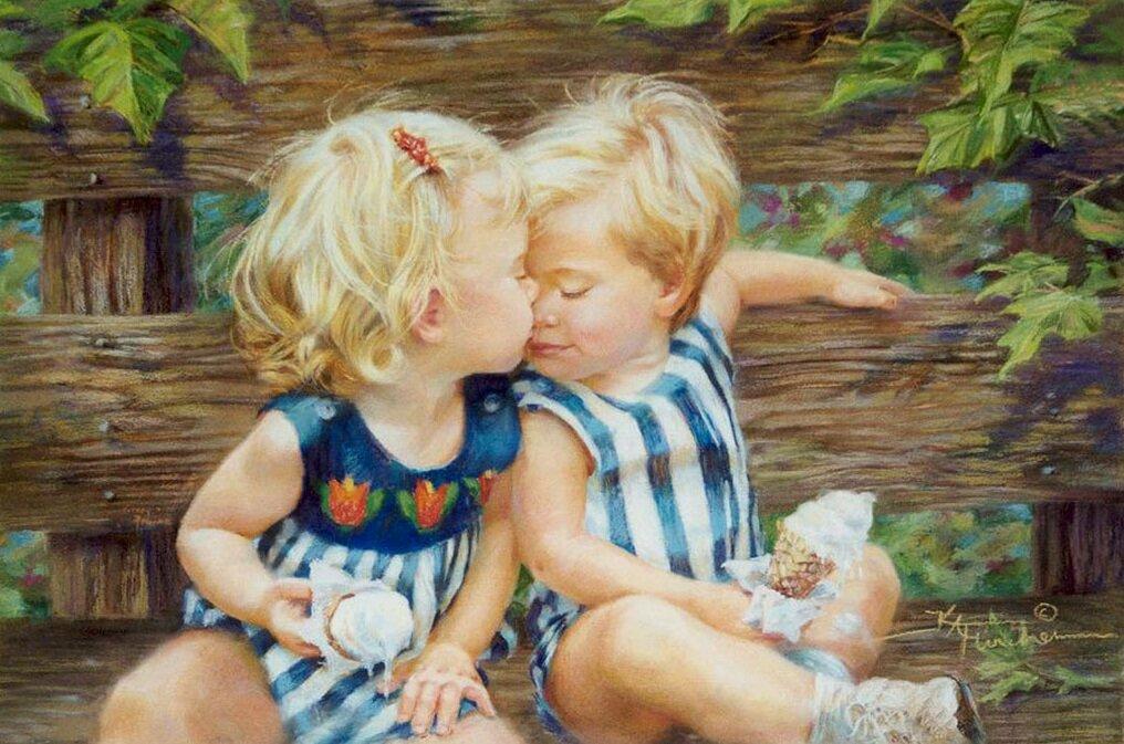 Дети любовь открытки, открытку помоги