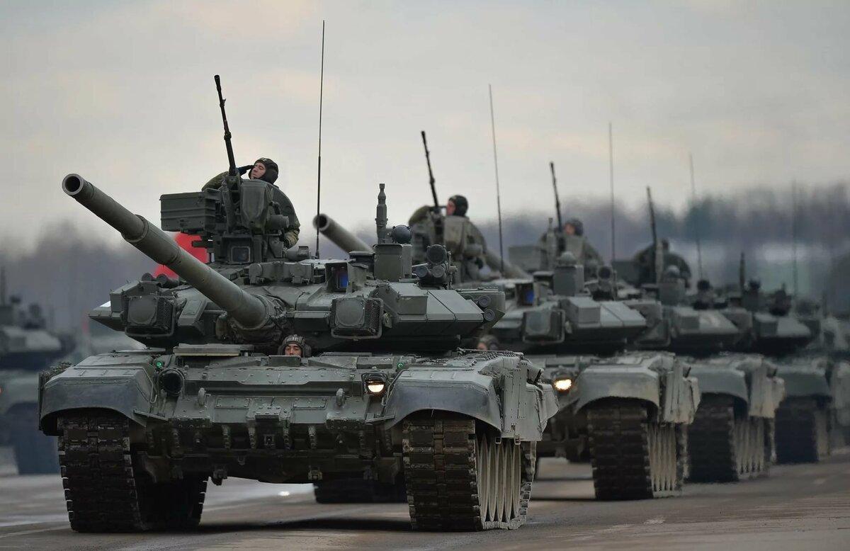 Бронетанковые войска россии