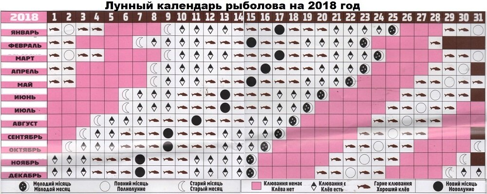 Рыболовный календарь карелии на 2019