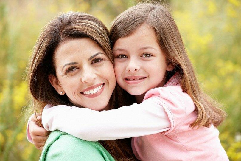 Картинки про маму и дочь