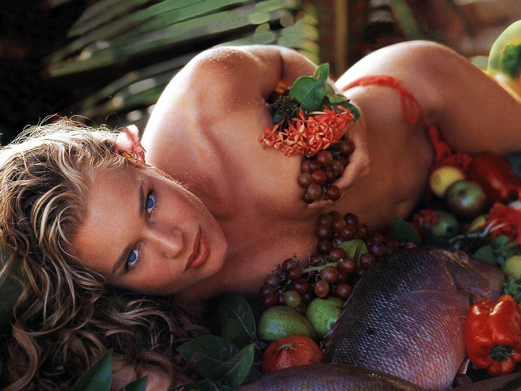 овощи в женском теле сексуальность