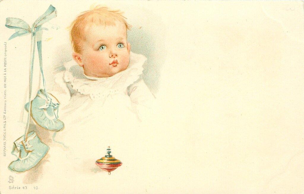 Старинные открытки с новорожденными, картинки днем рождения
