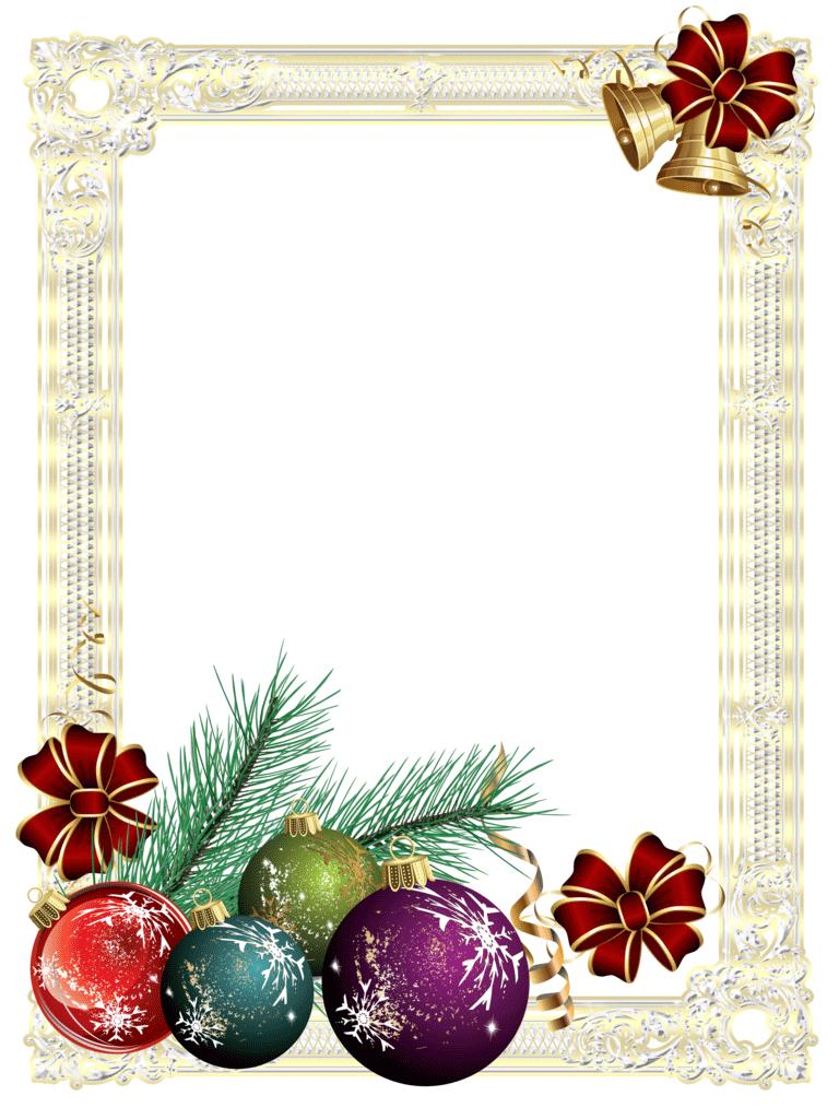 Рамки и открытки новый год