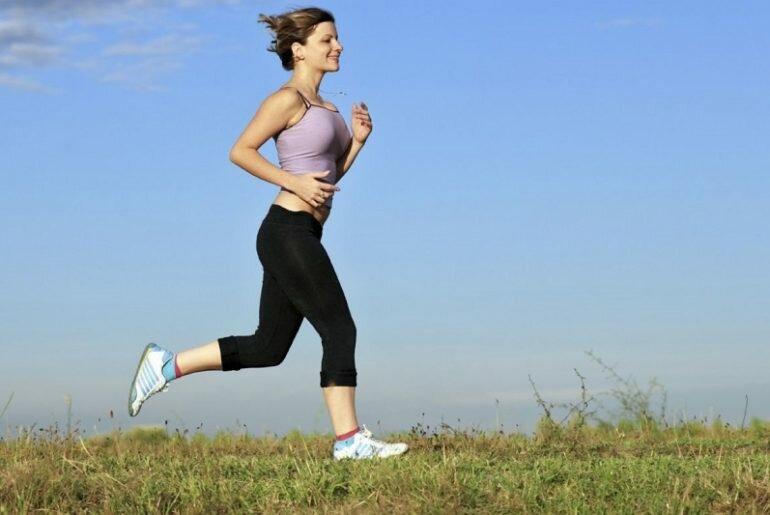 Бег человека чтобы похудеть