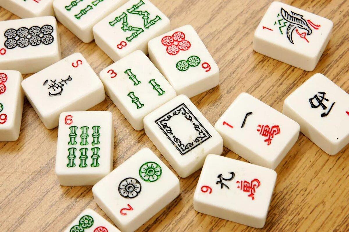 Китайская игра маджонг картинки