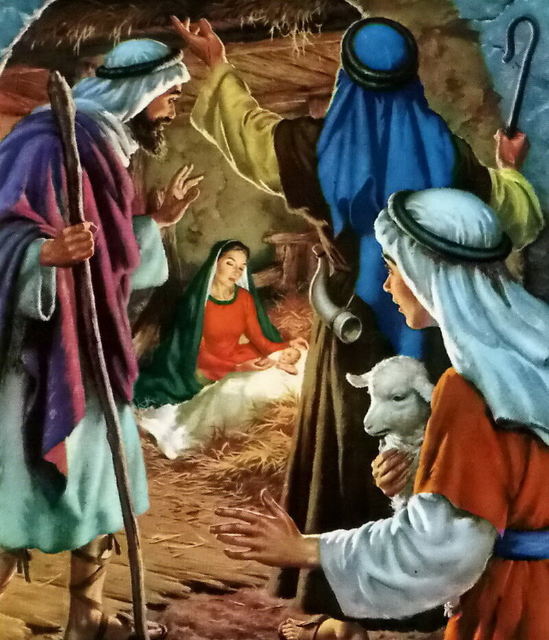 Картинки на рождество ангелы и пастухи